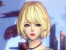 【花栀】金发红唇,魅力短发 ❤