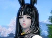 【花栀】黑发兔女郎 ❤