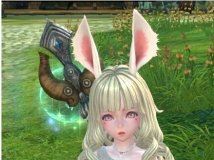 超萌兔儿小萝莉,孤单无趣好陪伴