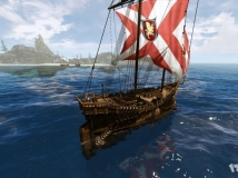 探索神秘原大陆 路遇神秘幽灵船