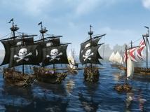 《上古世纪》高配置海战场面 效果全开