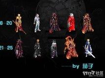 茄子:☆☆★★鬼剑天6、无时装、全时装改25套霸气时装