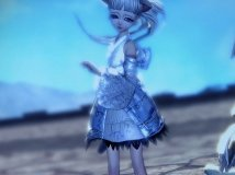【小鱼干】浅蓝小裙子