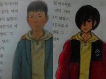 韩国学生神作 丧病涂鸦:让课本更时髦