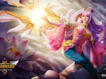 粉红色猴子天堂《英雄联盟 刀锋意志 艾瑞莉娅(莲花之令)》