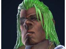 绿发黑眼的黑咕隆咚