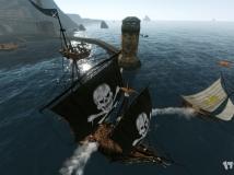 上古世纪西大陆公会集结黑珍珠舰队炮轰伊尼斯泰尔