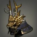 金箔天龙武士盔