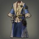 青麻治愈长袍