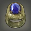 饿狼绿松石戒指