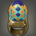 迷彩蛋戒指