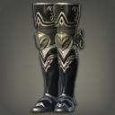 白钛制敌铠靴