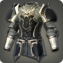 白钛制敌胸甲