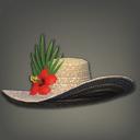 旅神葵宽边草帽