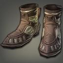 鞣革鸭嘴靴