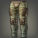 棉绒软甲裤