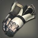 白钛制敌连指手铠