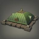 混合制绿洲小屋房顶