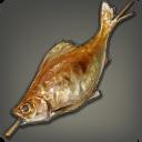 艾蒿烤鲤鱼