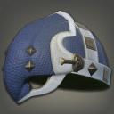飞龙革制敌盔帽