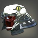 银箔灵蛇武士盔