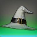 绢布咏咒宽边帽