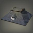 石制海滨小屋房顶