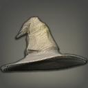 草布宽边帽