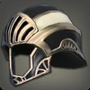 白钛制敌头盔