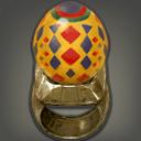 三色蛋戒指
