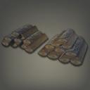 高质的木柴