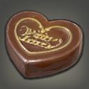 爱心苦巧克力
