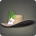 珍珠葵宽边草帽
