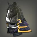 黑骑奔马武士盔