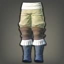 草布束膝裤