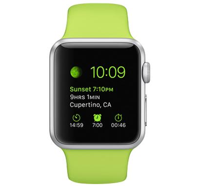 Apple Watch Sport 42毫米 铝金属表壳 运动表带