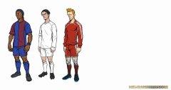 自由足球-游戏人物