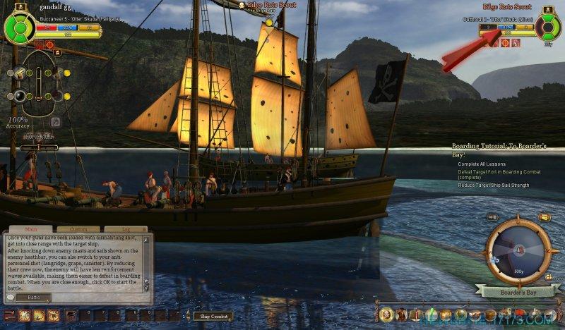 燃烧海洋上的海盗截图第4张