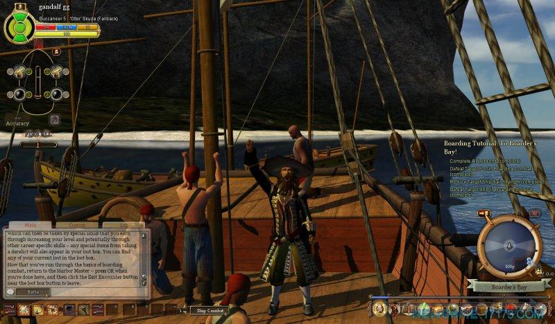 燃烧海洋上的海盗截图第1张