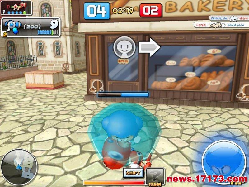 泡泡战士游戏截图第1张