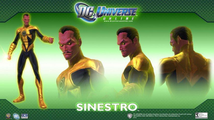 DC漫画英雄OL-人物设定图第2张