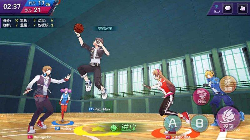 青春篮球游戏截图第3张