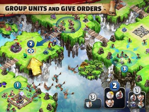 天空之城:联盟战游戏截图第5张