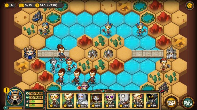 军团战棋游戏截图第3张