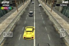 3D赛车狂飙游戏截图