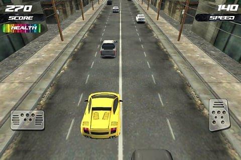 3D赛车狂飙游戏截图第1张
