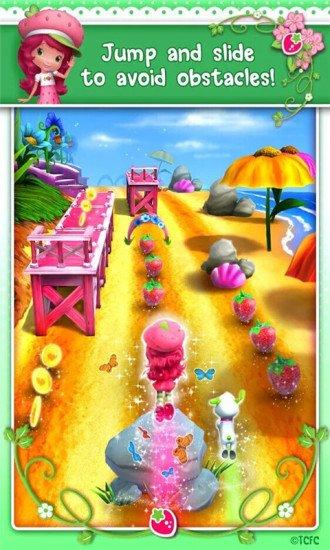 草莓女孩跑酷游戏截图第2张