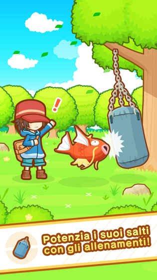 精灵宝可梦:鲤鱼王溅跃游戏截图第2张