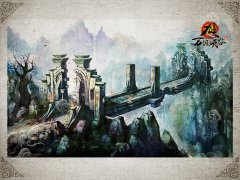 九重天-万仞峡谷原画