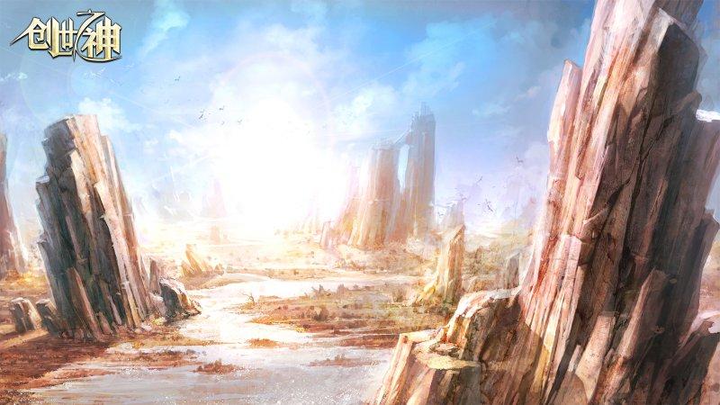 创世之神游戏壁纸第2张